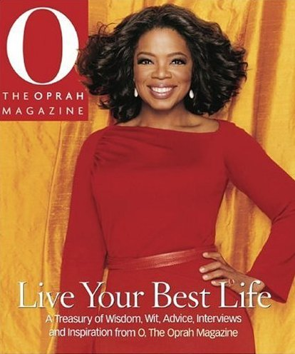 We love Oprah's feet - bunions and all!